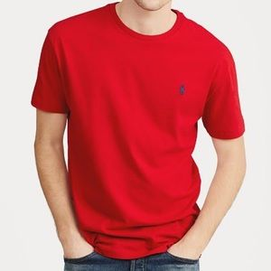 Men's Crew Neck T-Shirt - New with Tags - Red